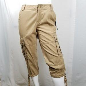 Lauren Ralph Lauren Cargo Capris Cropped Pants